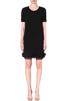 MAX MARA STUDIO Cleofe frilled-hem dress
