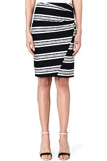 MAX MARA Clipper striped skirt