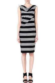 MAX MARA Cluroro striped dress