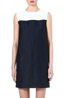 S MAX MARA Conico two-toned dress