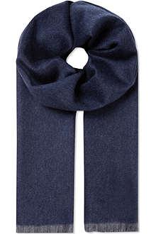 SPORTMAX Cashmere bi-colour scarf