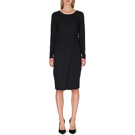 MAX MARA Crusca wool dress (Ultramarine