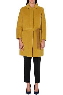 S MAX MARA Peter Pan wool-blend coat