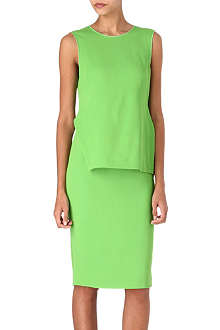 SPORTMAX Dax overlay dress