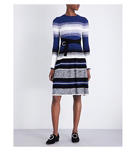 SPORTMAX Diretta knitted dress (Midnightblue