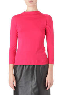 SPORTMAX Knitted wool top