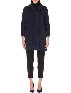 S MAX MARA Long-sleeved flecked coat