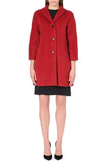 S MAX MARA Alpaca-blend long-sleeve coat