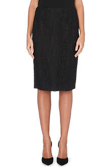MAX MARA STUDIO Duda lace pencil skirt