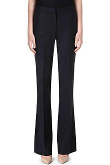 MAX MARA Eboli wide-leg stretch-wool trousers