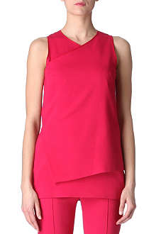 SPORTMAX Effetto two-layer tunic