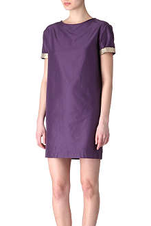S MAX MARA CUBE Ellade twill shift dress