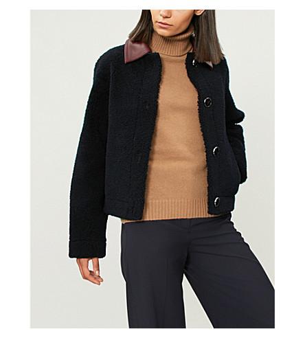 MAX MARA Ellisse wool and cashmere-blend jumper (Camel