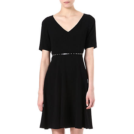 MAX MARA STUDIO Eloisa belted dress (Black