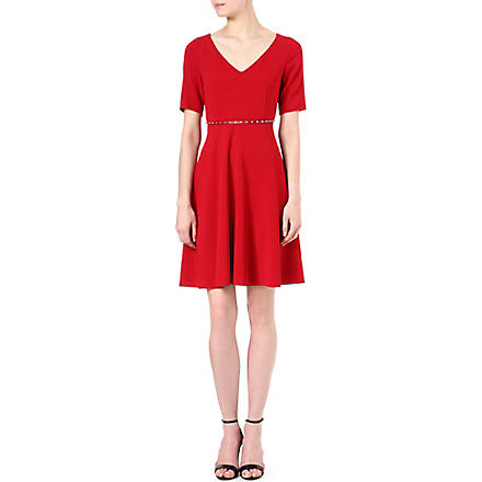 MAX MARA STUDIO Eloisa belted dress (Red