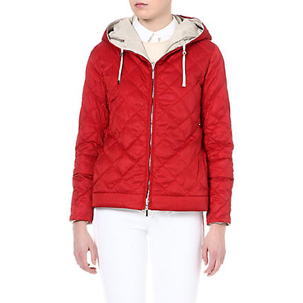MAX MARA CUBE Enovem reversible jacket (Red