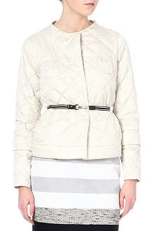 MAX MARA CUBE Cube collarless quilted jacket
