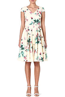 MAX MARA STUDIO Floral flared dress
