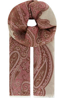 MAX MARA Antique print scarf