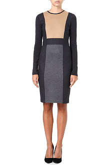 SPORTMAX Fagotto panelled dress