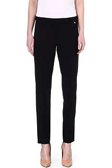 MAX MARA Slim stretch-wool trousers