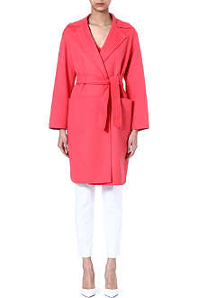 MAX MARA Wool-blend wrap coat