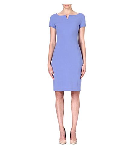 MAX MARA Fiamma stretch-wool dress (Blue