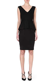 SPORTMAX Peplum jersey dress