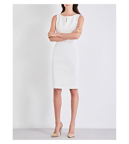 MAX MARA Finale stretch-wool dress (White