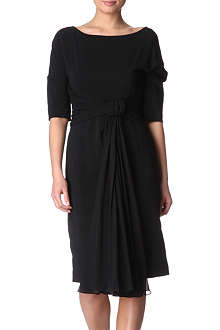 SPORTMAX Fiorito crepe dress
