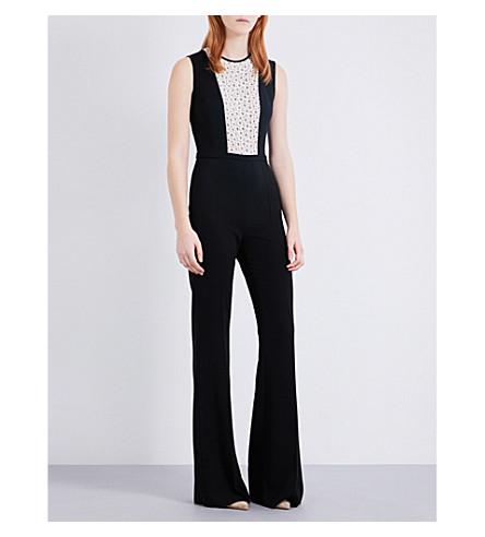 MAX MARA Fiumana crepe jumpsuit (Black