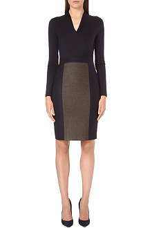 MAX MARA Jersey-wool dress