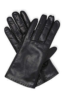 MAX MARA Leather gloves