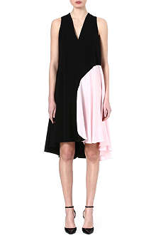 SPORTMAX Fratte spot-detail dress
