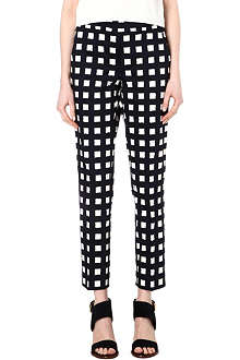 MAX MARA Freccia checked trousers