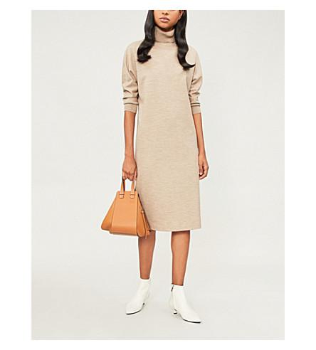 MAX MARA 弗雷达羊毛和羊绒混纺连衣裙 (斑鸠