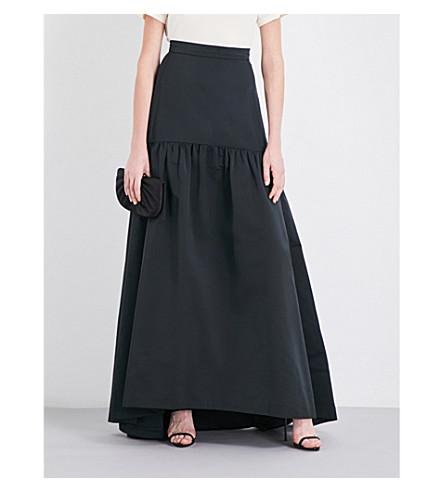 MAX MARA ELEGANTE Gallico woven maxi skirt (Black