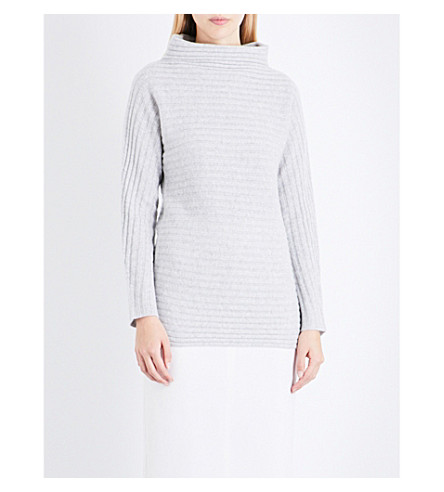 S MAX MARA Galosce cashmere jumper (Light+grey
