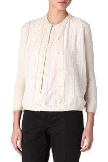MAXMARA STUDIO Gap beaded cardigan