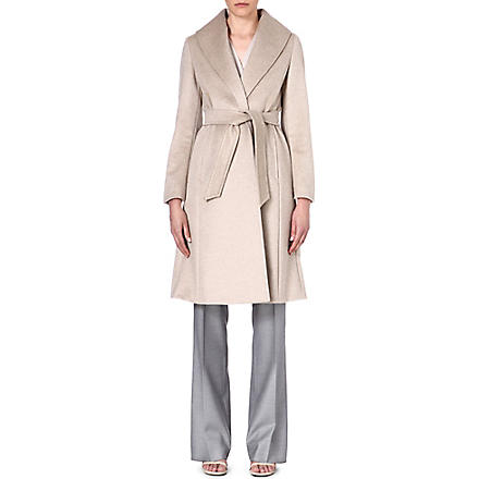 MAX MARA Ghetta classic cashmere wrap coat (Sand