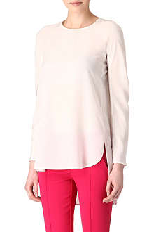 SPORTMAX Gimmy silk top