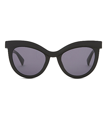 MAX MARA MM8071 Prism cat-eye sunglasses (Black