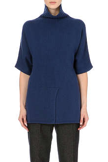 S MAX MARA Turtleneck cashmere-blend jumper
