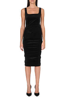 SPORTMAX Halle velvet dress
