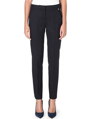 MAX MARA Hardy tapered stretch-wool trousers