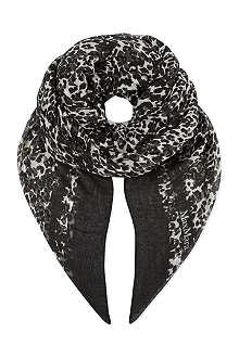 MAX MARA STUDIO Leopard print scarf