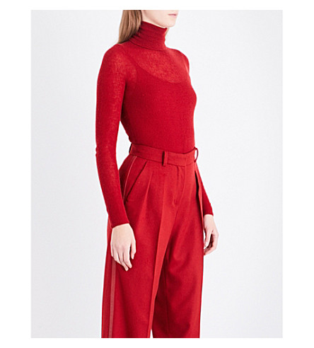 MAX MARA Hello cashmere jumper (Red
