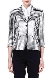 MAX MARA Hodeida checked jacket