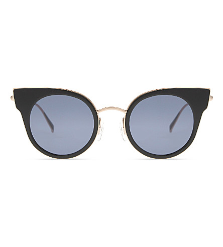 MAX MARA Ilde1 cat-eye sunglasses (Black