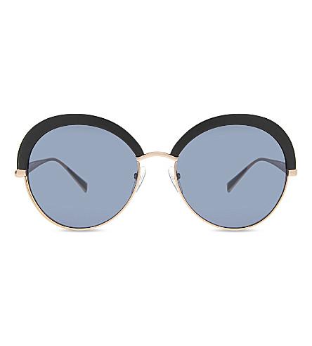 MAX MARA Ilde2 round-frame sunglasses (Black